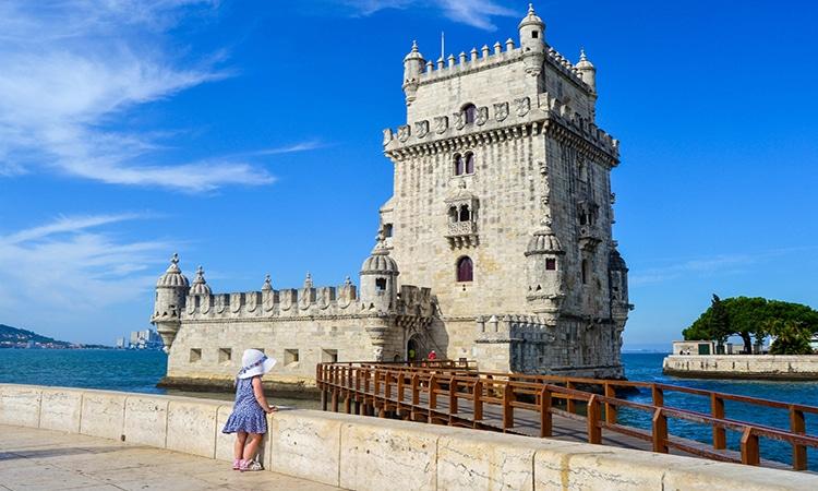 Torre de Belém em Portugal
