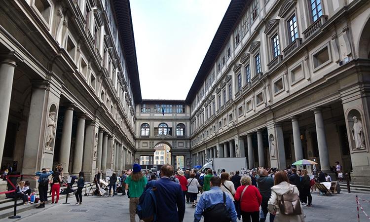 Visitar museus em Florença