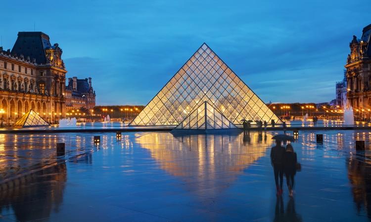 pontos turísticos mais visitados do mundo Louvre