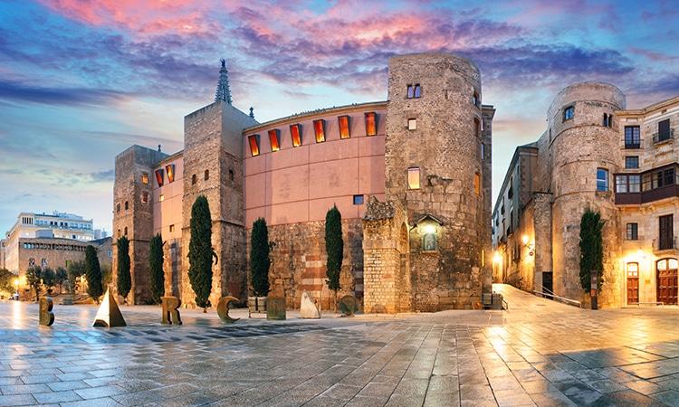 Roteiro em Barcelona Bairro Gótico
