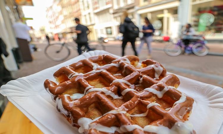 comida de rua em amsterdam