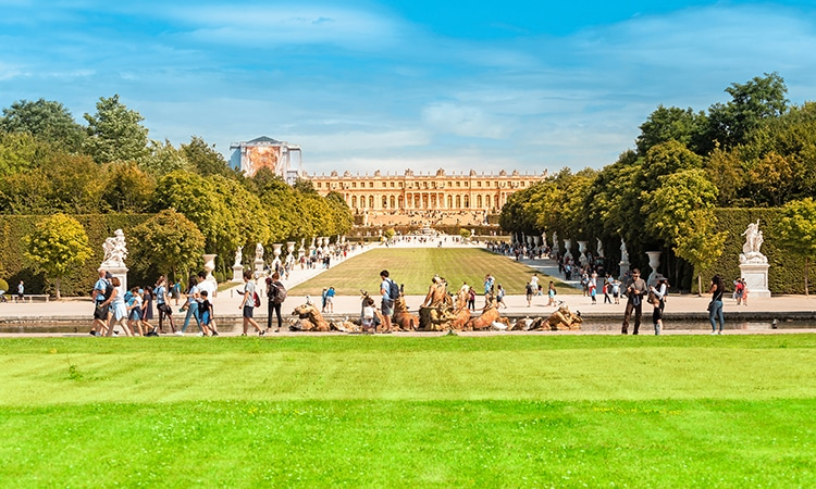 Palácio de Versalhes Jardins