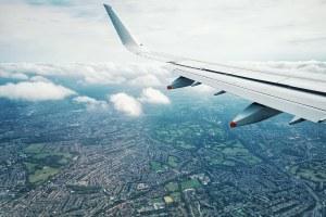 passagem aérea para Inglaterra
