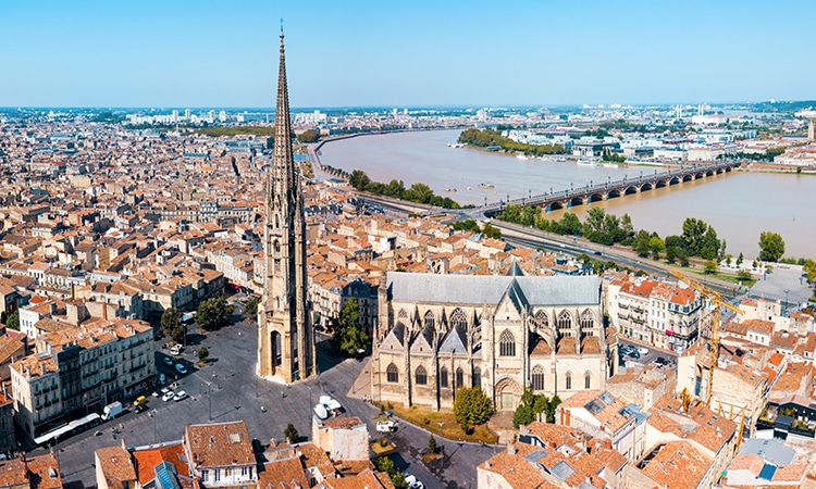 Turismo na França Bordeaux