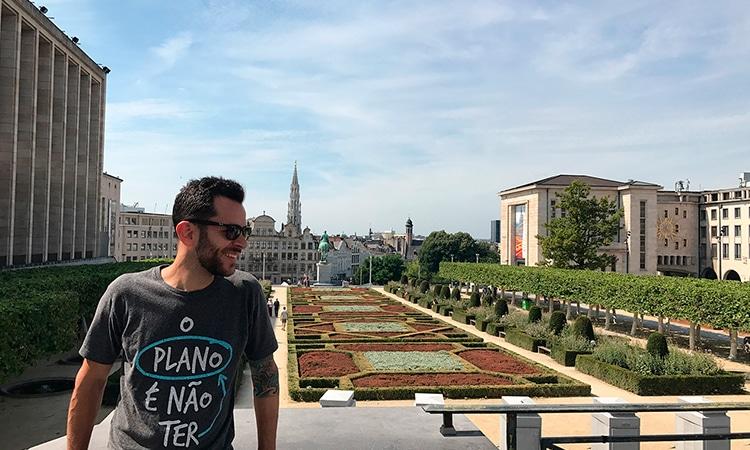 Guilherme em Bruxelas