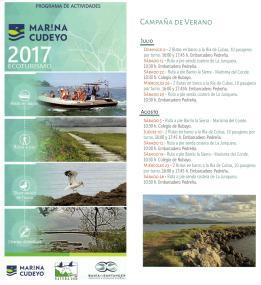 Ecoturismo Marina de Cudeyo_Campaña de Verano 2017