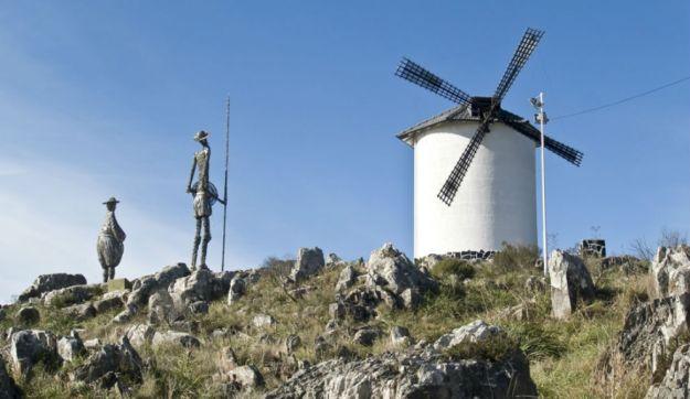 Monumento de Don Quijote y Sancho Panza en Tandil.