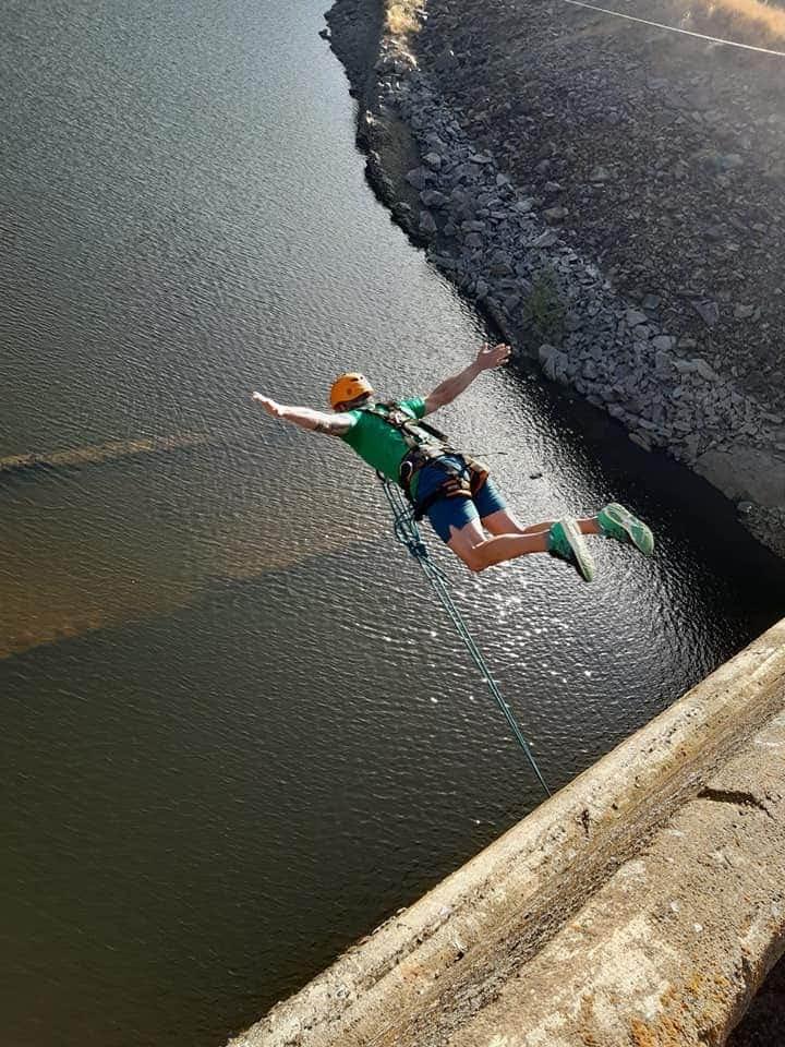El mejor salto de puenting en Salamanca