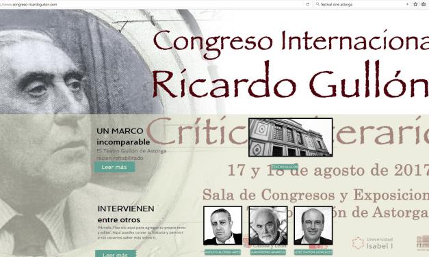 Astorga se prepara para rendir homenaje al intelectual Ricardo Gullón