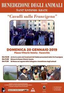 """""""Cavalli sulla Francigena"""" Benedizione degli animali, Fucecchio – 20 Gennaio"""