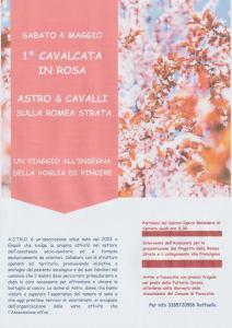 1^ Cavalcata in Rosa