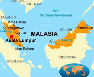 Resultado de imagen de MAPA DE MALASIA