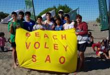 Photo of EXCELENTE PERFORMANCE DE SAO EN EL CIRCUITO PATAGONICO DE BEACH VOLEY
