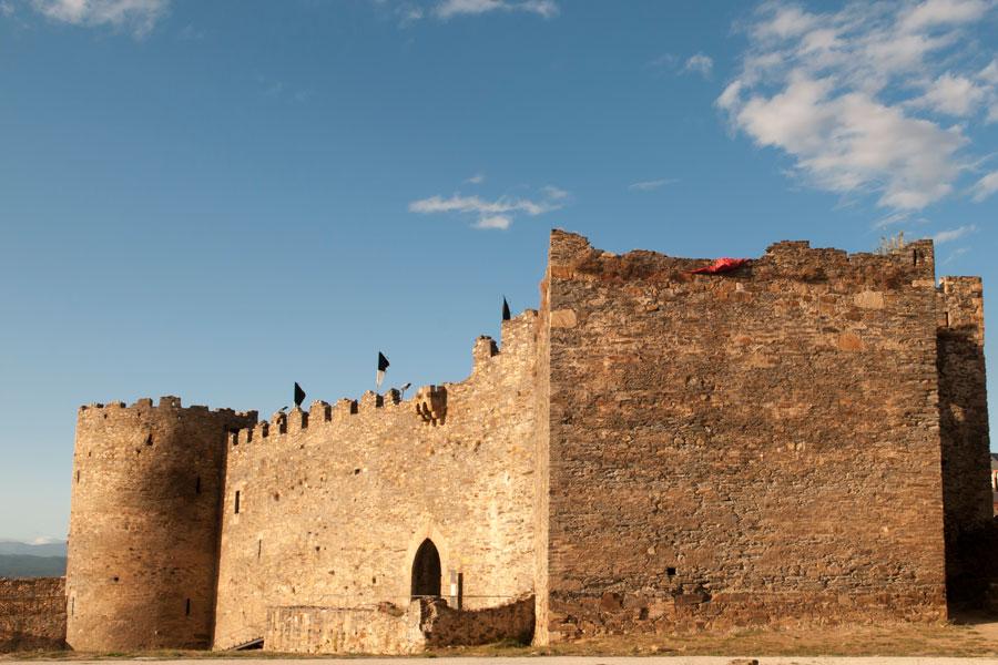 Castillo Viejo en el Castillo de los Templarios