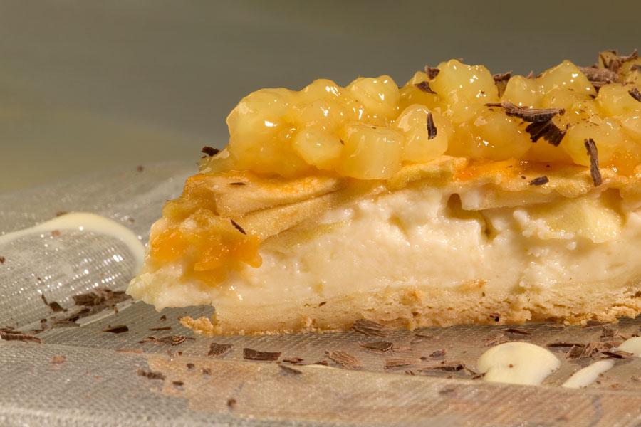 Receta tarta con manzana reineta del Bierzo