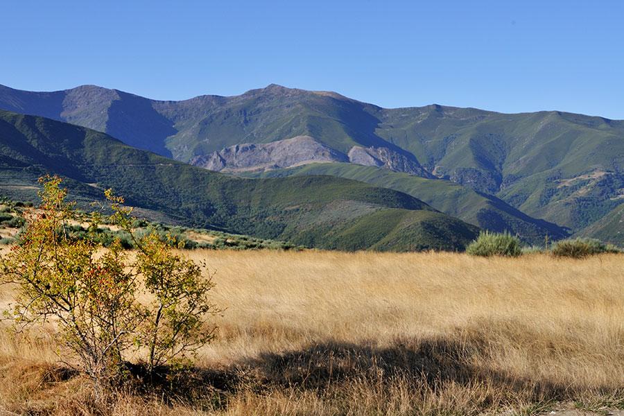 Vista general Montes Aquilianos