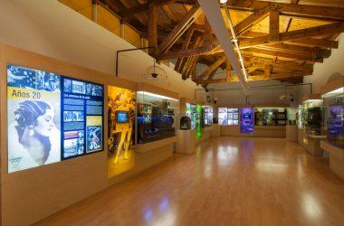 Sala del Museo de la Radio de Luis del Olmo