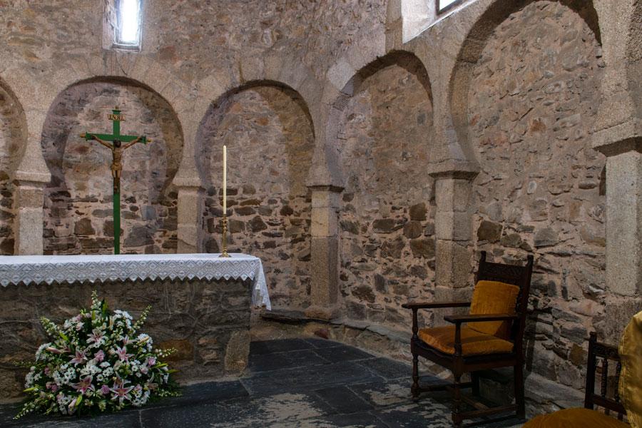 Interior iglesia Santo Tomás de las Ollas