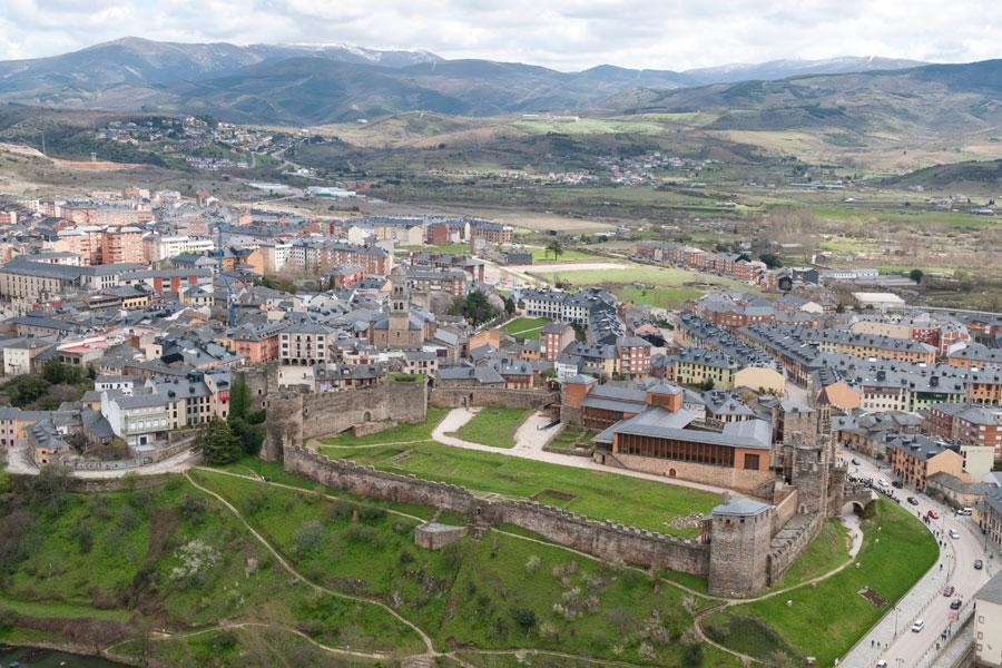 Vista aérea Castillo de los Templarios