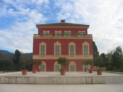 El museo de Bellas Artes Jules Chéret y el museo Matisse en Niza