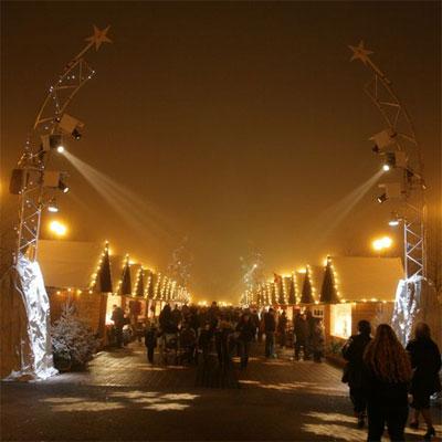 Navidad-Disney-Village