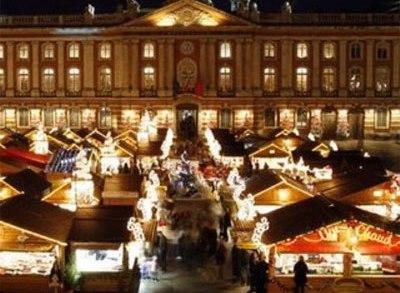 Mercado de Navidad en Toulouse