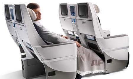 Nueva cabina Premium Voyageur de Air France
