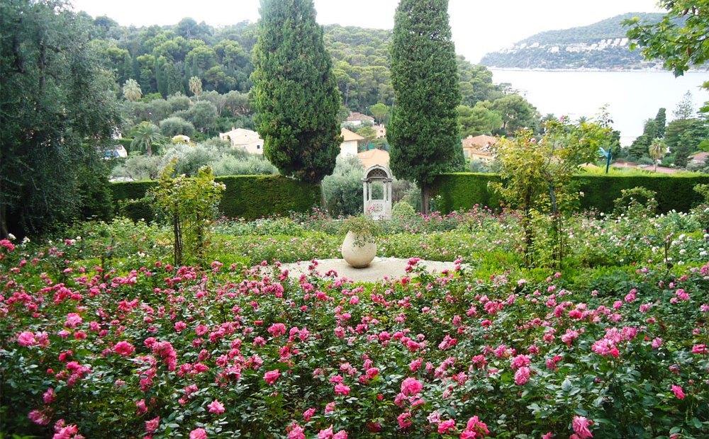 Los jardines de la Costa Azul