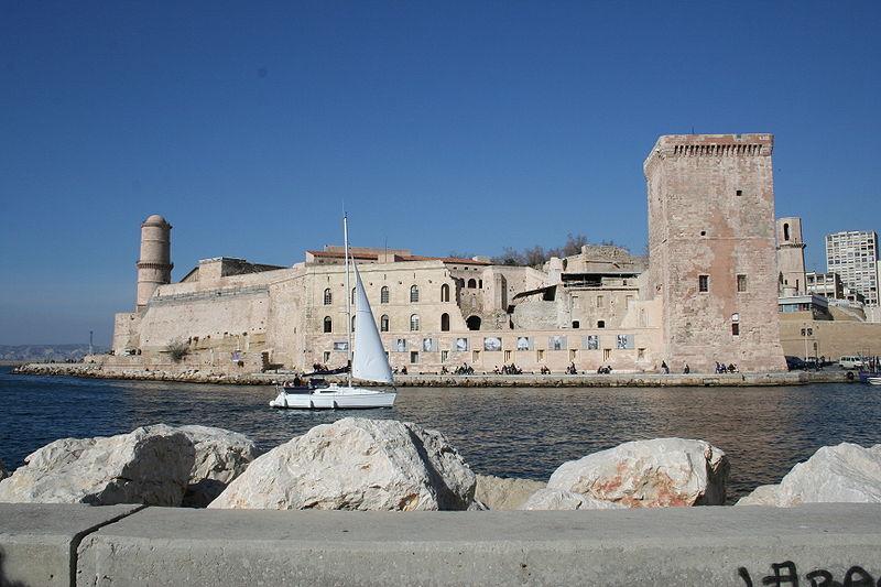 El fuerte de San Juan en Marsella