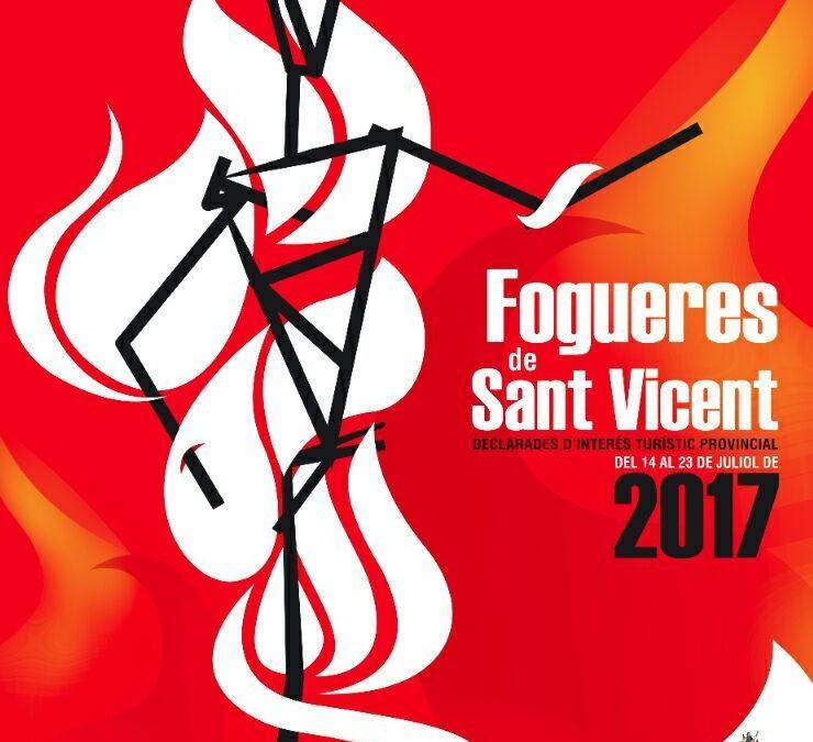 HOGUERAS SAN VICENTE DEL RASPEIG 2017-PROGRAMA OFICIAL ACTOS