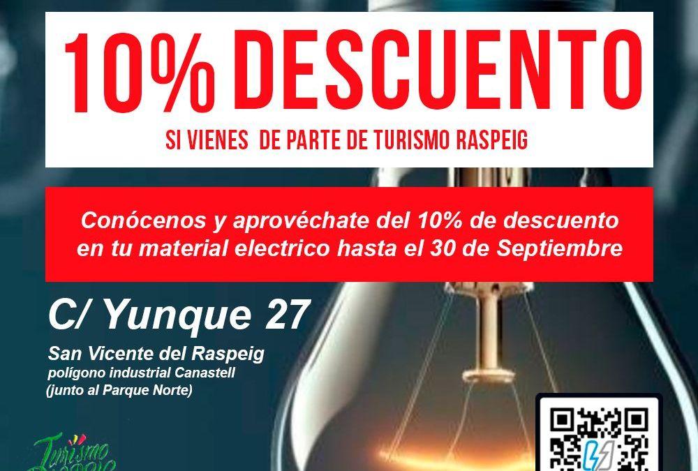 Descuento Material Eléctrico TodoElectrico.es en San Vicente del Raspeig