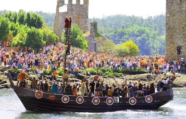 Catoira y la romería vikinga