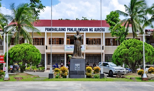 The Provincial Capitol of Aurora