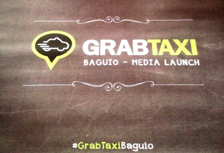 GrabTaxi launches in Baguio City | Turista Boy