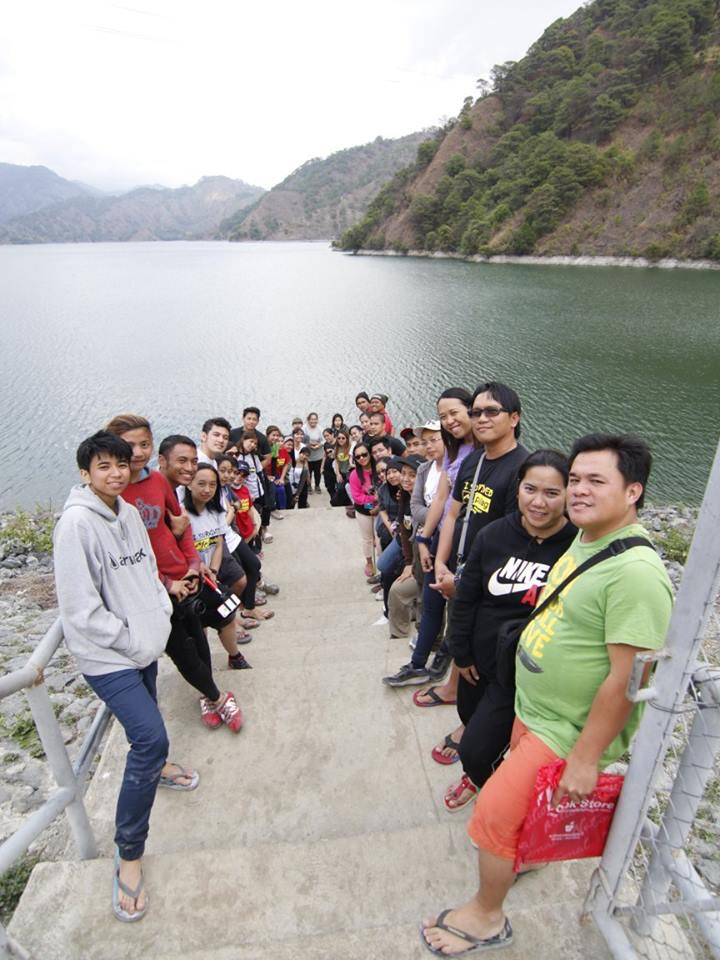 Team Pinikpikan in Ambuklao Dam after summiting Mount Pulag!