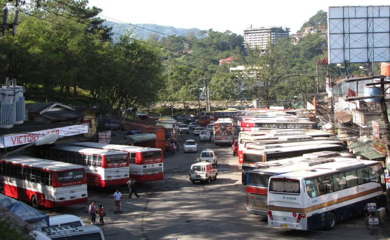 Baguio's Central Bus Terminal at Governor Pack Road - Gateway to Mount Pulag