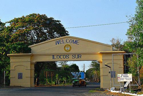 Ilocos Sur Welcome Arch