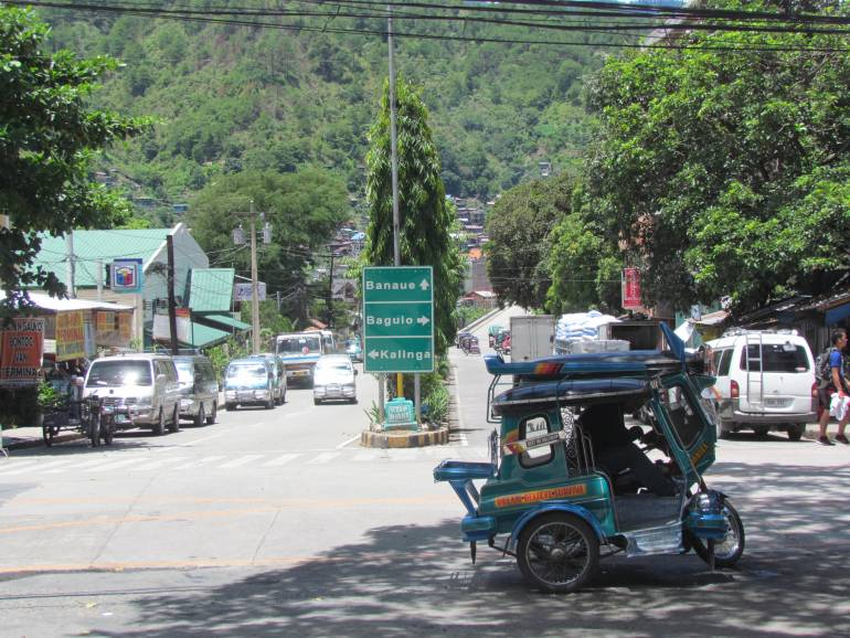 Downtown Bontoc - bound for Kalinga