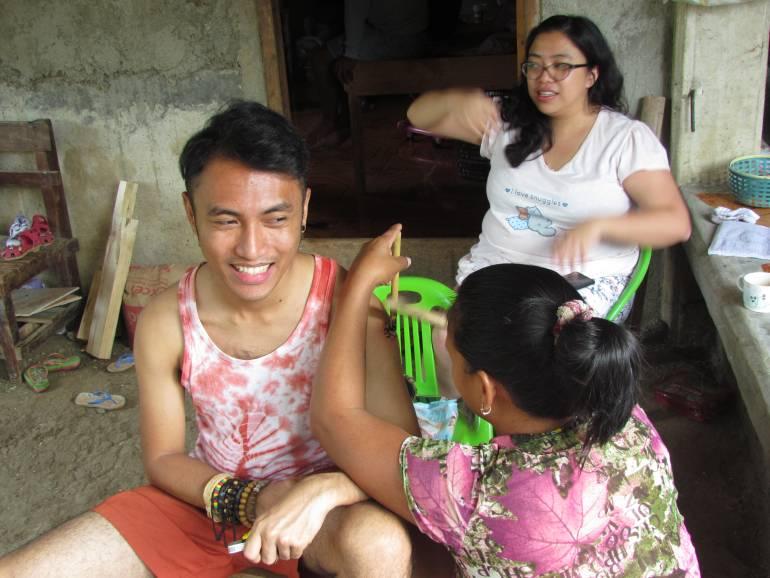 Tattoo time - Buscalan, Tinglayan, Kalinga