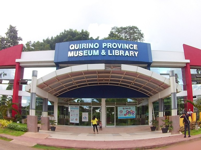 Quirino Province Museum and Library (at the Capitol Complex)