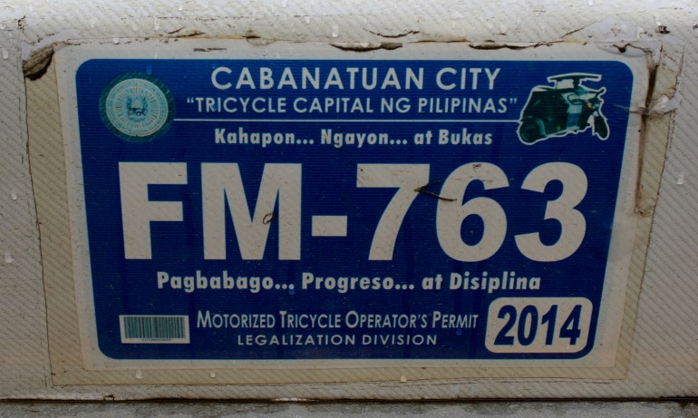 Cabanatuan City - Tricycle Capital of the Philippines - Turista Boy