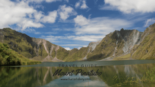 Mount Pinatubo | Turista Boy