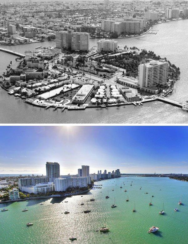Belle Isle, Miami Beach, 1960s. Foto: Wikimedia & Ashton Coleman