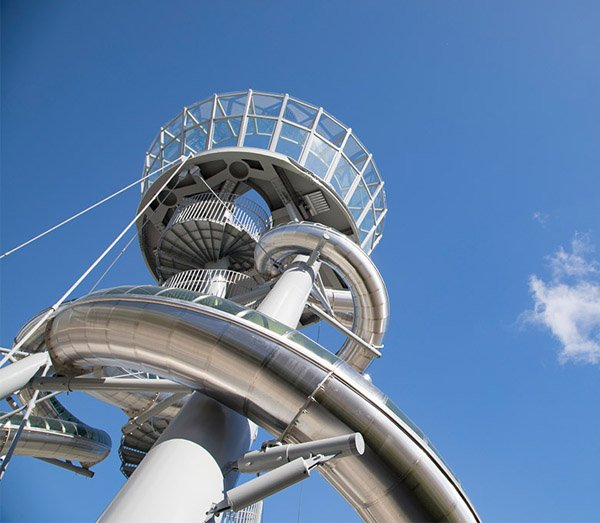 Aventura Slider Tower. Foto: Aventura Mall/ Leo Diaz