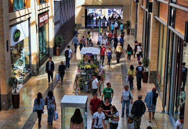 Centro comercial. Foto: sean_hickin