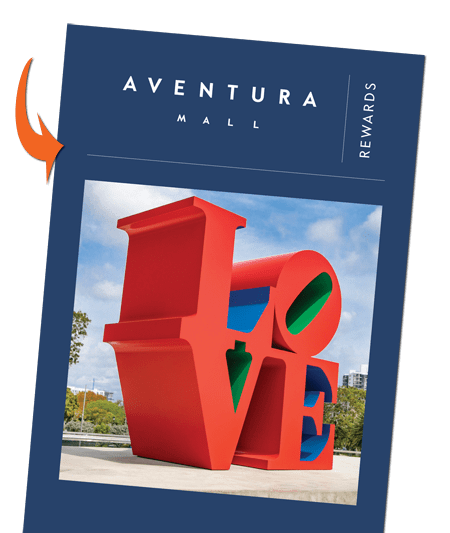 cuponera de descuentos de Aventura Mall Rewards