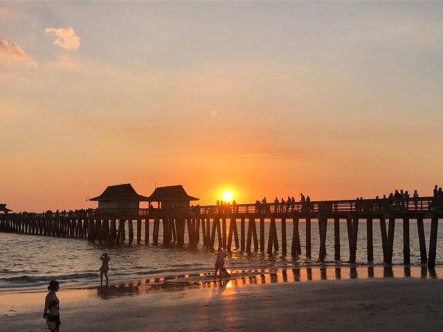 Playas de la costa oeste en Florida