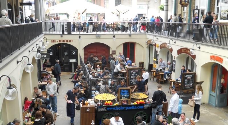 Covent Garden Market em Londres