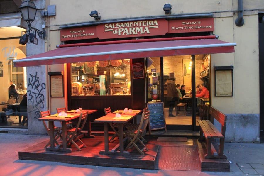 Roteiro de 3 dias em Milão: Salsamenteria di Parma.