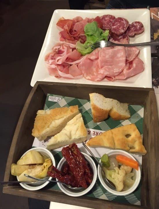 Roteiro de 3 dias em Milão: restaurante Signorvino.